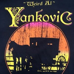 Weird Al Yankovic Amish Paradise Graphic Tee